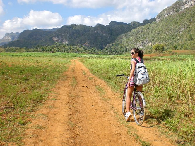 Cycling Valley of Vinales